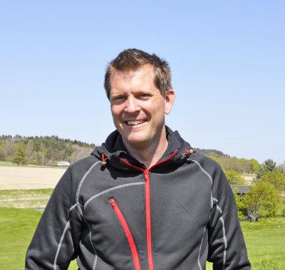 Course manager Mattias Jockert