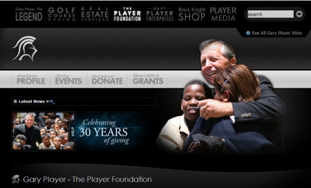 Gary Player website
