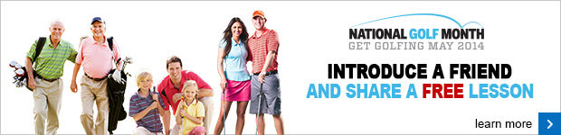 National Golf Month banner P4 NGM 14