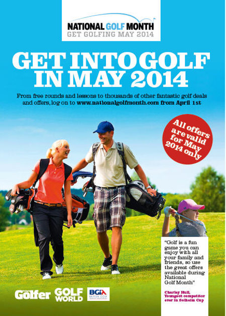 National Golf Month Flyer