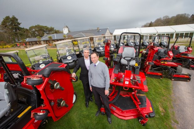 New machinery at Cottrell Park