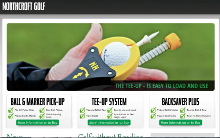 Northcroft Golf website