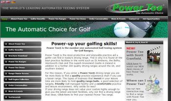Power Tee website