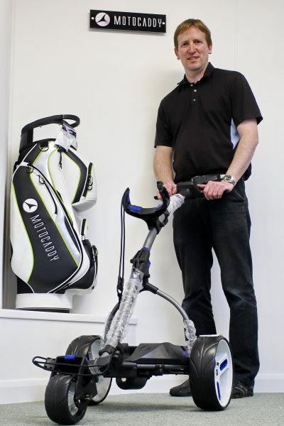 Steve Harden, Golf Trolley Shop
