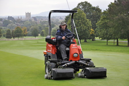 The Eclipse 322 together with a comprehensive fertilizer programme has taken the greens to another level