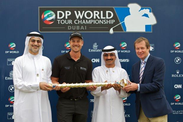 2013 DP World Tour Championship presentation