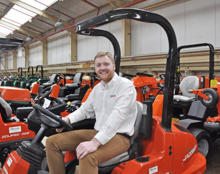 Antony Alexander, Ransomes Jacobsen's new Product Manager