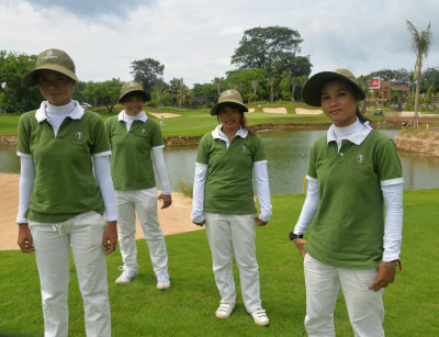 Bali National Caddies