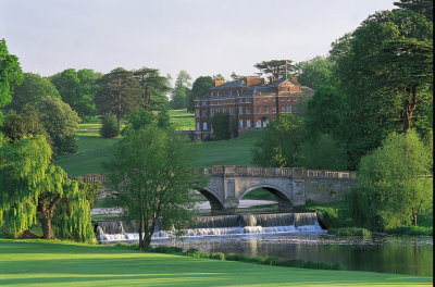 View from the 16th Green, Melbourne Course, Brocket Hall