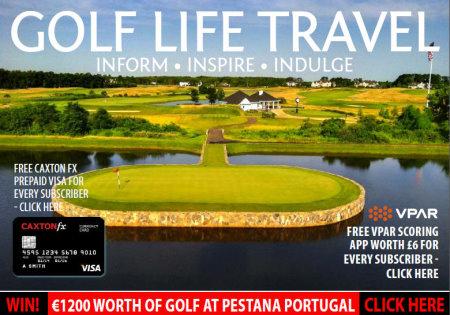 Golf Life Travel April cover