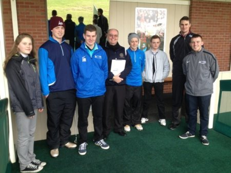 Golf Students Benefit from Coaching Qualification