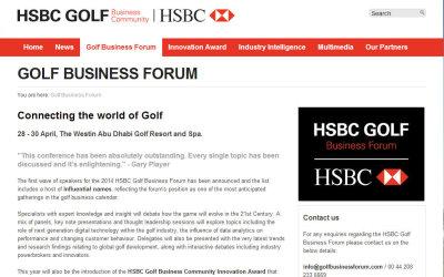 HSBC website grab