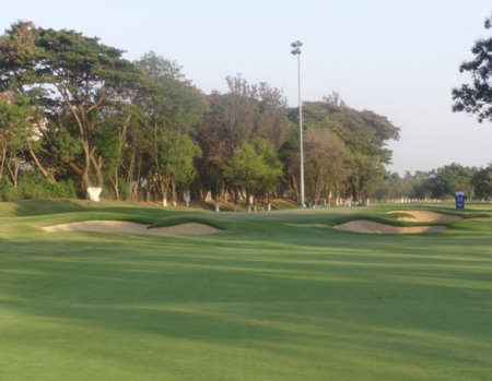 The opening green on the second half of the championship course at KGA