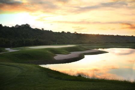The fourth hole at National Azerbaijan Golf Club
