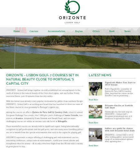 Orizonte Golf screengrab