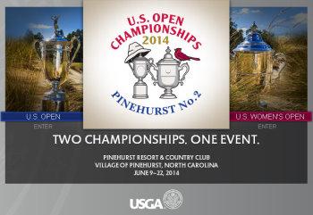 US Open Championships website screengrab