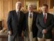 (From left) Prof. A.Turgeon, Walter Woods, Ian Butcher