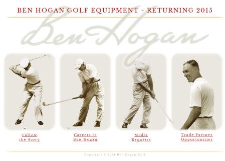 Ben Hogan Golf website