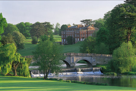 Brocket Hall from 16th Green, Melbourne Course