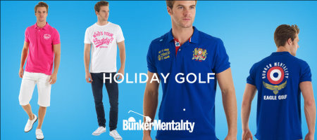 Bunker Mentality Holiday Golf