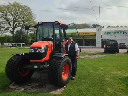 Clive Watton of Burrows Grass Machinery