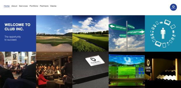 Club Inc.'s new website