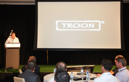 Dana Garmany Chairman and CEO opens the 2014 Troon International Conference