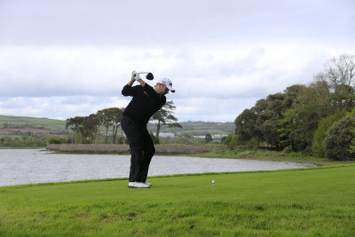 Shane Lowry  on the new 6th Tee (©Golffile)