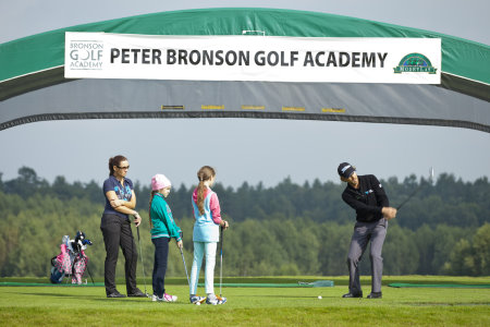 Poland's leading golf pro, Peter Bronson, is based at Modry Las