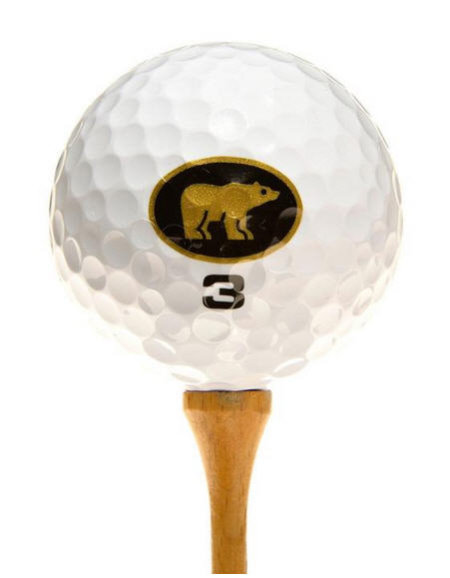 Nicklaus Black golf ball