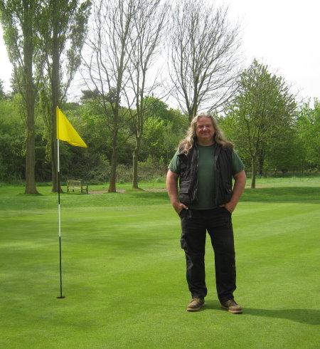 Paul Durrant, Course Manager, Seckford Golf Club