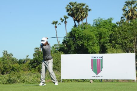 Sokhamony Thong will lead the local challenge in the Faldo Series Cambodia Championship