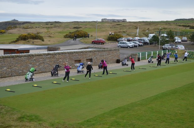 The New Huxley Golf Tee Practice Area at St Andrews2.