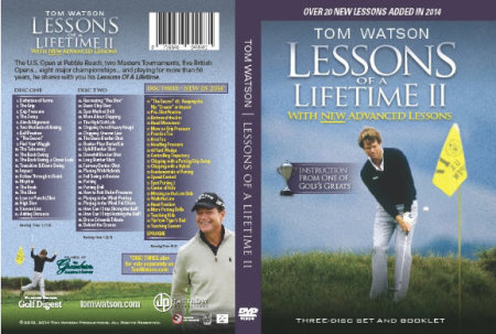 Tom Watson Lessons DVD