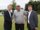 (From left) Andy Brown of Toro with Ryder Cup player Peter Hanson and Jonathan Smith of GEO