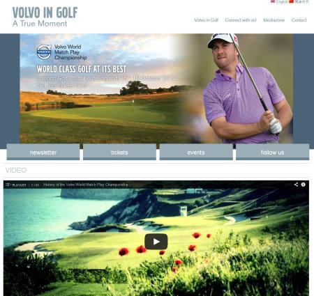 VolvoinGolf website