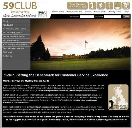 59 Club website