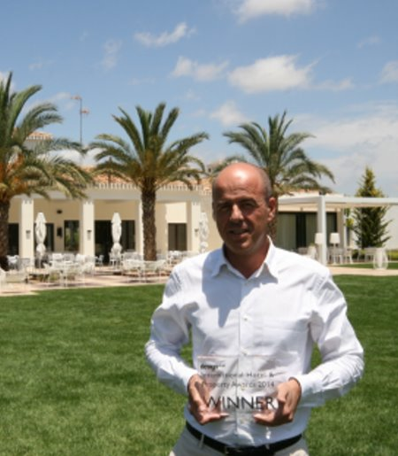 Antonio Montoro, Vice President, Las Colinas Golf & Country Club