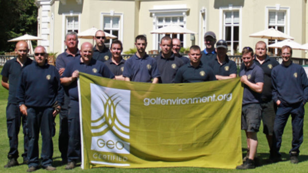 Greenkeeping team at Burhill Golf Club