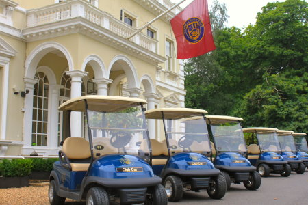 BGL Golf, the UK's leading course owner and operator, shows off its new Club Car fleet