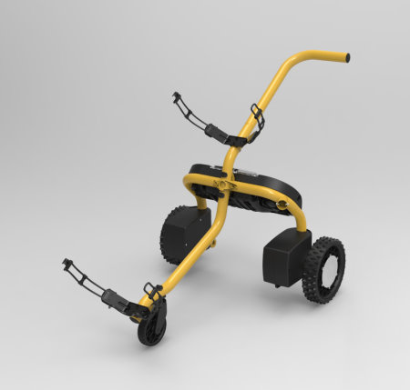 BigFoot robotic golf caddy