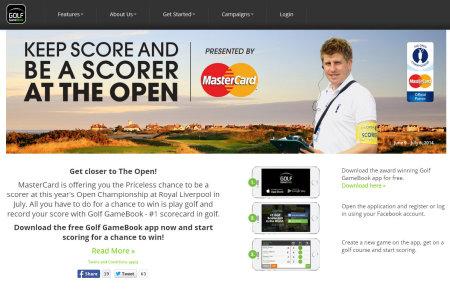 Keeo Score website grab