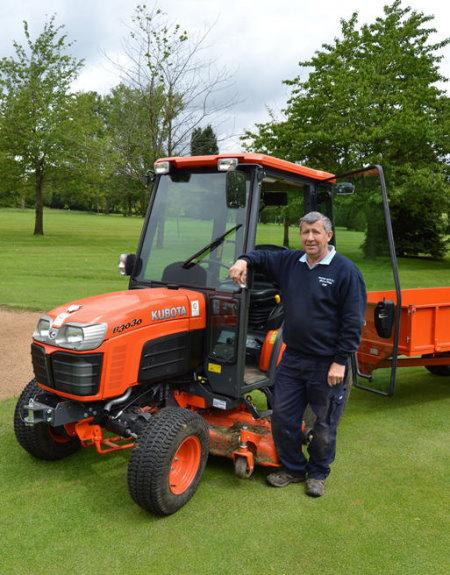 Kubota with Kim Blake, Course Manager at Fulford Heath Golf Club,