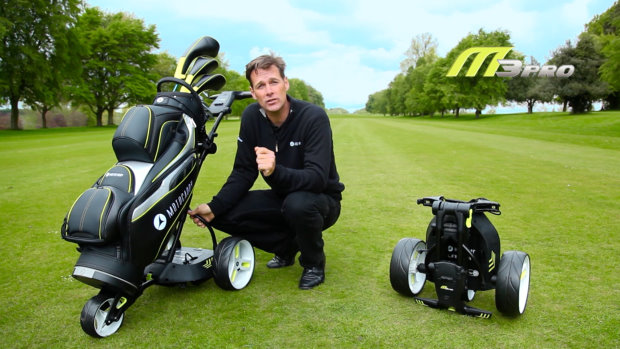 Jeremy Dale explains features of all five electric trolleys and benefits of lithium batteries