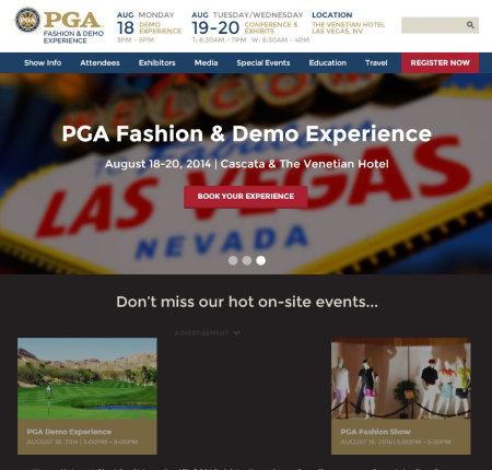 PGA Las Vegas August 2014 screengrab