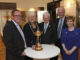 from left: Richard Hills (Ryder Cup director), Liz Grant (Perth Provost), Ian Miller (leader of Perth council), Sandy Jones (PGA chief executive), Bernadette Malone (Perth & Kinross Council) - image courtesy of Andy Forman