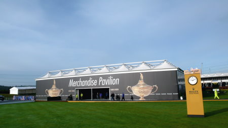 De Boer UK's Delta Structure will be used to house the Merchandise Pavilion