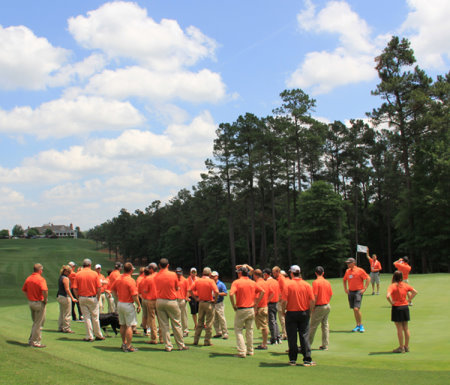 Future Turf Manager event attendees toured Sage Valley Golf Club in Graniteville, South Carolina, widely known as one of the top golf course in the United States.