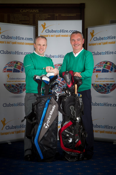 ClubstoHire founders Tony Judge and Gerry McKernan