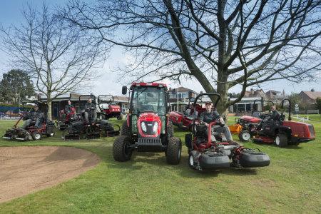 Coventry Hearsall Golf Club's new Toro machinery fleet.